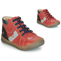 Chaussures Garçon Baskets montantes GBB RENOLD VTS BRIQUE DPF/BELKA