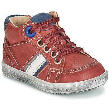 Chaussures Garçon Baskets montantes GBB ANGELITO Bordeaux