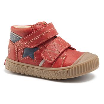 Chaussures Garçon Baskets montantes GBB RADIS VTE BRIQUE-MARINE DPF/LINUX