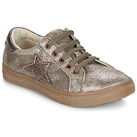 Chaussures Fille Baskets basses GBB SABINE Taupe / Rose gold