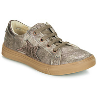 Chaussures Fille Baskets basses GBB SABINE CRT TAUPE ROSE DPF/DOLBY