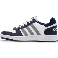 Chaussures Garçon Baskets basses adidas Performance Hoops 2.0 Kids Footwear White / Grey Three / Collegiate Navy