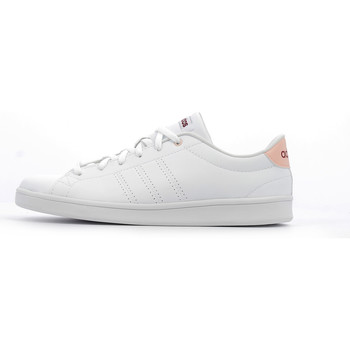 Chaussures Femme Baskets basses adidas Performance Advantage Clean QT W Footwear White / Mystery Ruby