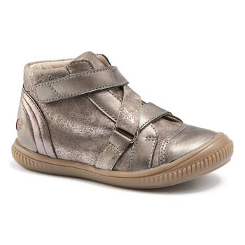 Chaussures Fille Baskets montantes GBB RADEGONDE VTC TAUPE DPF/FRANCA
