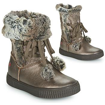 Chaussures Fille Bottes ville GBB NOUSTIK VTC BRONZE DPF/ESTER