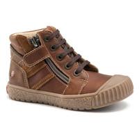 Chaussures Garçon Baskets montantes GBB RAMBOUTAN VTE MARRON DPF/LINUX