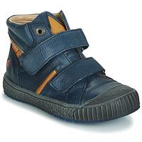 Chaussures Garçon Baskets basses GBB RAIFORT VTE MARINE-OCRE DPF/LINUX