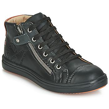 Chaussures Garçon Baskets montantes GBB NICO Noir