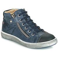 Chaussures Garçon Baskets montantes GBB NICO VTE MARINE DPF/2835