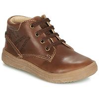 Chaussures Garçon Baskets montantes GBB NINO VTE MARRON DPF/2835