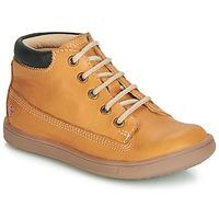 Chaussures Garçon Baskets montantes GBB NORMAN VTE OCRE DPF/MESSI