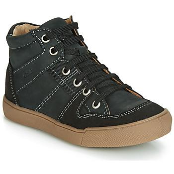 Chaussures Garçon Baskets montantes GBB NEMOON VTC NOIR DPF/WHITE