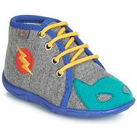 Chaussures Garçon Chaussons GBB SUPER BOYS TTX GRIS-BLEU DTX/AMIS