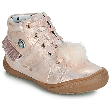 promo code a7314 ec9f4 Chaussures Fille Baskets montantes Catimini ROSALIE Rose