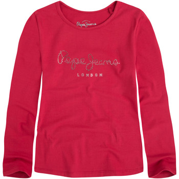 Vêtements Fille T-shirts manches longues Pepe jeans Charlene T-Shirt Ml Fille