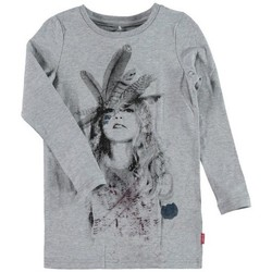 Vêtements Fille T-shirts manches longues Name It Kids T-Shirt manches longues NENIKA Grey Melange