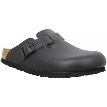 Chaussures Femme Mules Birkenstock Boston cuir Femme Noir Noir