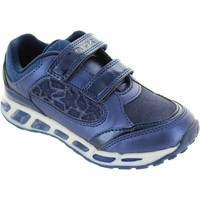 Chaussures Fille Baskets basses Geox J Shuttle GA Bleu
