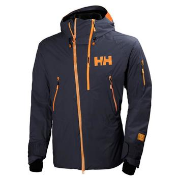 Vêtements Femme Vestes Helly Hansen BACKBOWL JACKET GRAPHITE BLUE VESTE DE SKI GRAPHITE BLUE