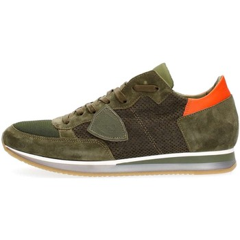 a6088917c5267c Philippe Model Paris TRLU 1115 TROPEZ SNEAKERS Homme MILITARY MILITARY - Chaussures  Baskets basses Homme GH8HUA1Z - destrainspourtous.fr