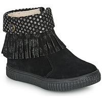 Chaussures Fille Baskets basses Catimini PERETTE CTV NOIR/DPF ESTER