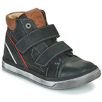 Chaussures Garçon Baskets montantes Catimini ROBBY VTE NOIR DPF/BASCO