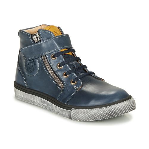 Chaussures Garçon Baskets montantes Catimini TOBBY VTE MARINE DPF/TOMMY