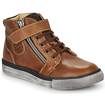 Chaussures Garçon Baskets montantes Catimini TOBBY Marron