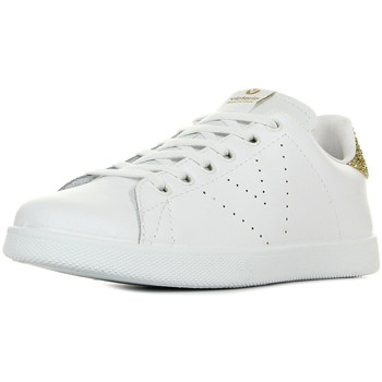 Chaussures Femme Baskets basses Victoria Deportivo Tenis Glitter blanc