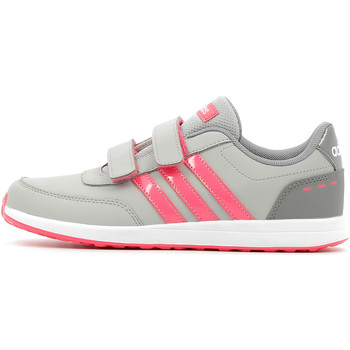 Chaussures Fille Baskets basses adidas Performance VS Switch 2 CMF Children Grey Two / Real Pink / Grey Three