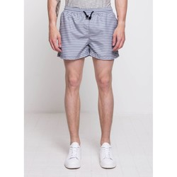 Vêtements Homme Maillots / Shorts de bain Suit LORD STRIPE Gris Clair