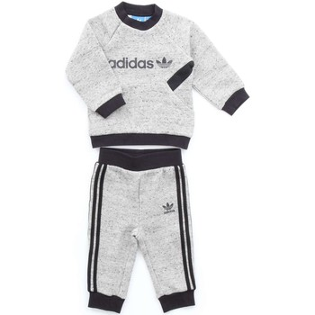 Vêtements Enfant Ensembles de survêtement adidas Originals BQ4391 SWEAT SHIRT Enfant Gris/noir Gris/noir