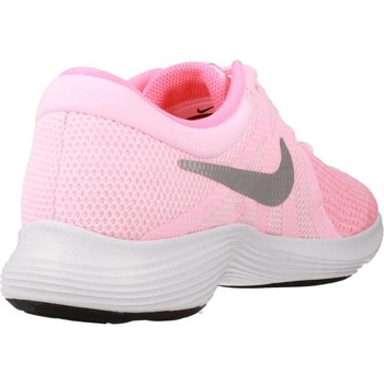 Chaussures Femme Baskets basses Nike REVOLUTION 4 (GS) Rose
