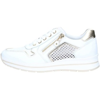 Chaussures Femme Baskets basses Nero Giardini P805241D Basket Femme Skipper Bianco Skipper Bianco