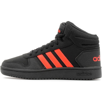 Chaussures Enfant Baskets montantes adidas Performance Hoops Mid 2.0 Kids Core Black / Red