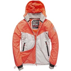 Vêtements Femme Vestes de survêtement Superdry Veste  Sport Stormbreaker Shocking Red/gr Corail