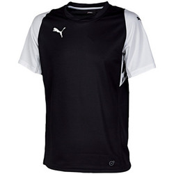 Vêtements Homme T-shirts manches courtes Puma Indoor Jersey Black/White