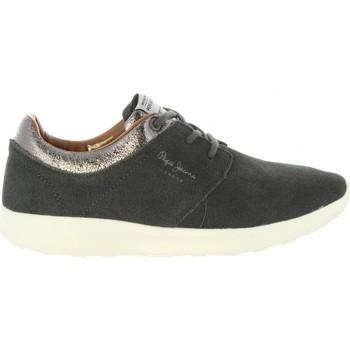 Chaussures Femme Baskets basses Pepe jeans PLS30602 AMANDA Gris
