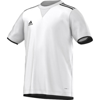 Vêtements Garçon T-shirts manches courtes adidas Performance Maillot Core 11 Junior Blanc