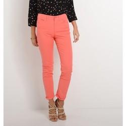 Vêtements Femme Jeans slim Armani jeans DAHLIA J18 Rouge Corail