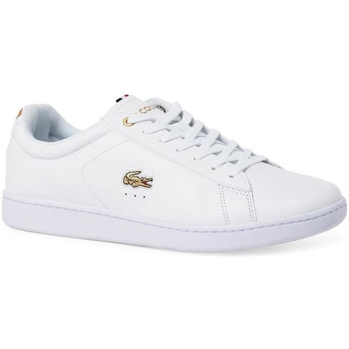 Lacoste CARNABY EVO 118 3 ZPT CBO Blanc - Chaussures Baskets basses Homme