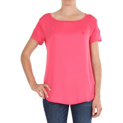 Vêtements Femme T-shirts manches courtes Armani jeans V5H27 Rose