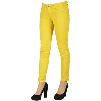 Vêtements Femme Jeans slim Liu Jo W17140 Jaune Vert