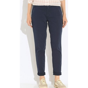 Vêtements Femme Chinos / Carrots Tommy Hilfiger SLIM CHINO Bleu Marine