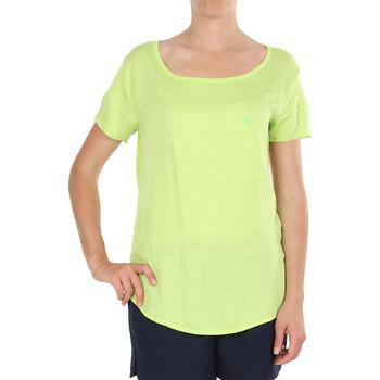 Vêtements Femme T-shirts manches courtes Armani jeans V5H27 Vert