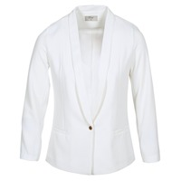 Vêtements Femme Vestes / Blazers Betty London IKAROLE Blanc