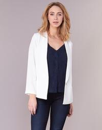 277b8b78c7 Vêtements Femme Vestes / Blazers Betty London IKAROLE Blanc