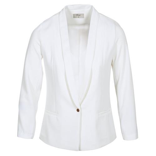 Vêtements Femme Vestes / Blazers Betty London IKAROLE Blanc