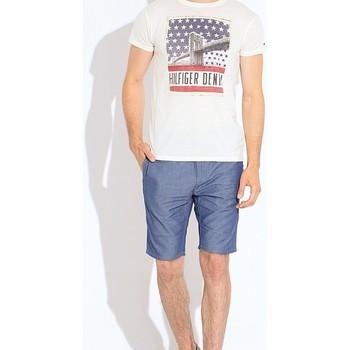 Vêtements Homme Shorts / Bermudas Tommy Hilfiger 1957893440 Bleu Clair