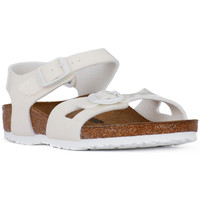 Chaussures Fille Sandales et Nu-pieds Birkenstock RIO MAGIC GALAXY WHITE Bianco